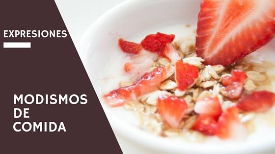 expresiones alimentos español