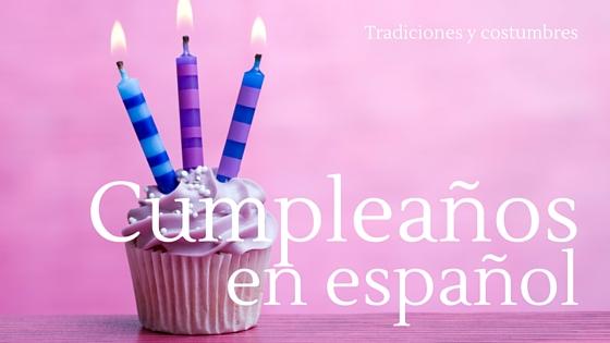 Cumpleaños en España