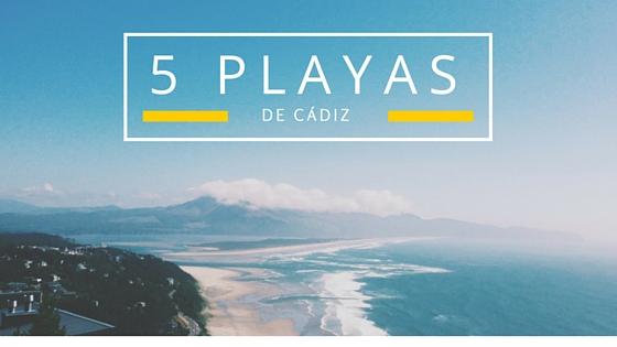 5 playas de Cádiz